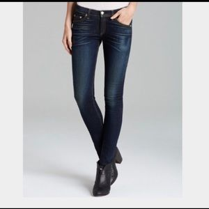 Rag & Bone The Skinny Jeans In Plymouth Wash